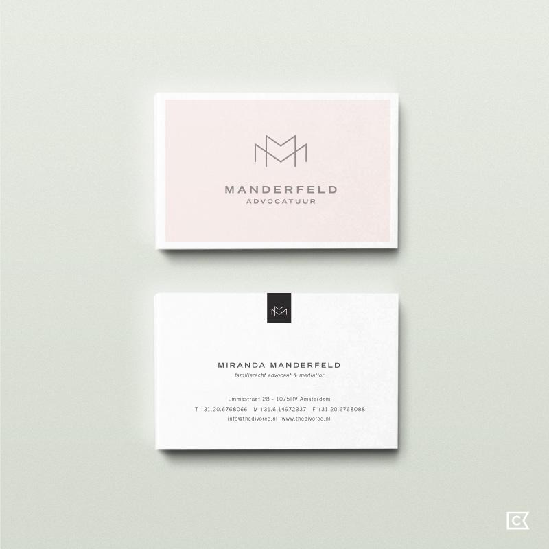 Manderfeld Advocatuur by Compass Island.