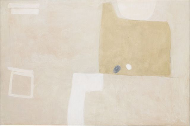 Compass Island X Tate Modern. Agnes Martin, Untitled oil on gypsum board.