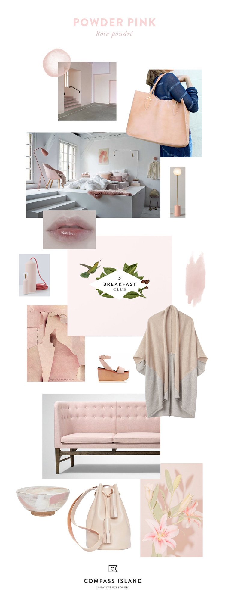 Powder Pink by Compass Island