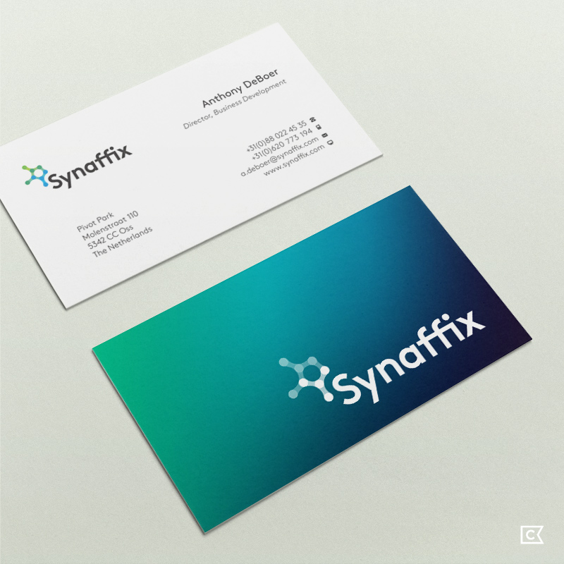 Synaffix identity by Compass Island
